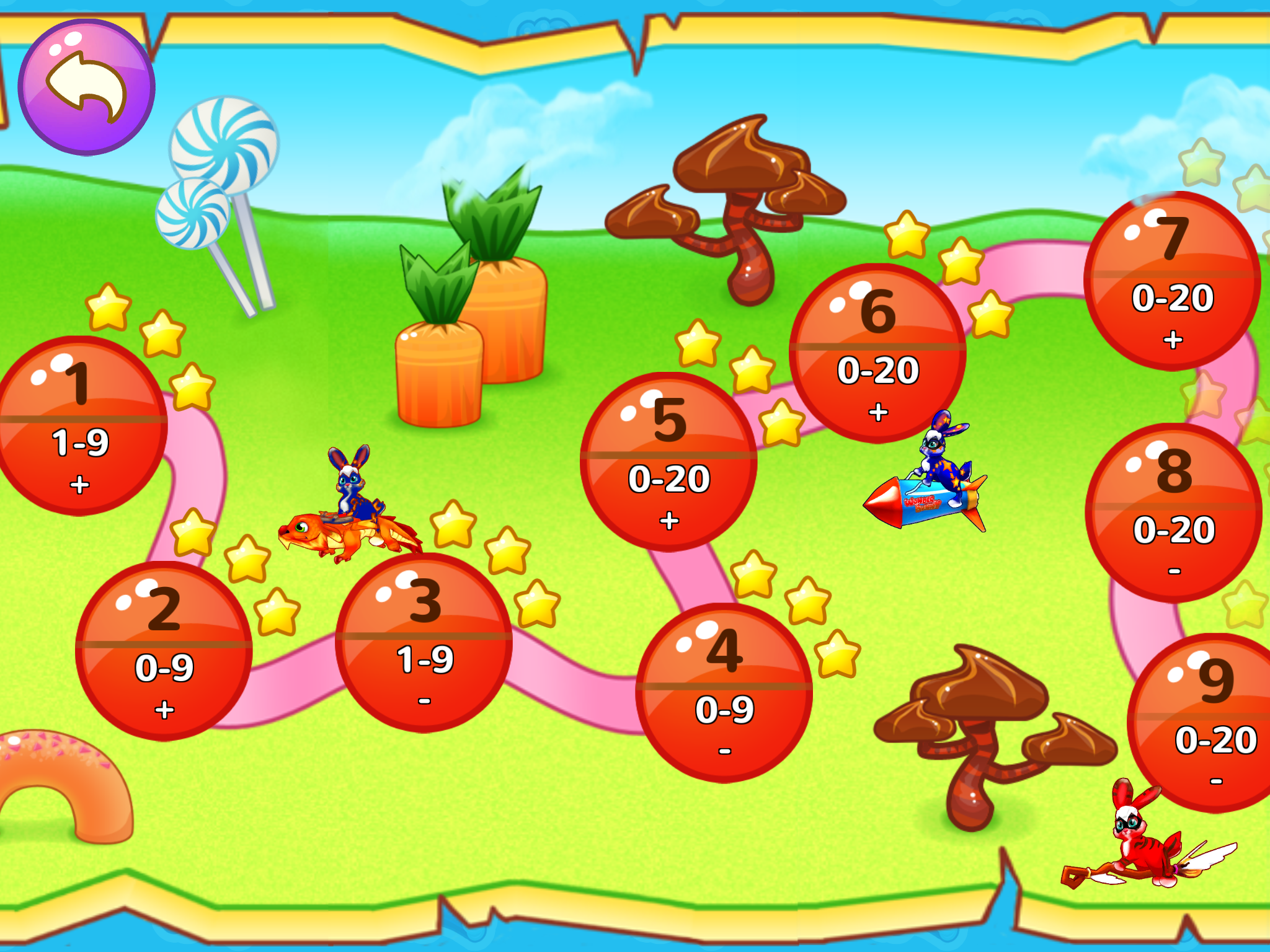 Wonder Bunny Math Race is a FUN way for kids to practice their math skills.