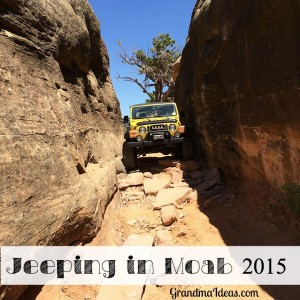 Jeeping in Moab, Utah, is a great family activity.