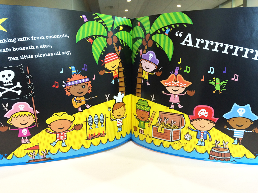 Ten Little Pirates by Mike Brownlow is a delightful picture book for kids.