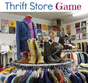 The Thrift Store Game is fun for kids to play.