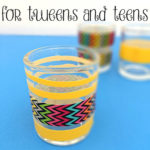 Super Easy Votive Craft for Tweens and Teens