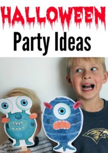 Here are 3 great activities for your family Halloween party. They are super easy and cheap!
