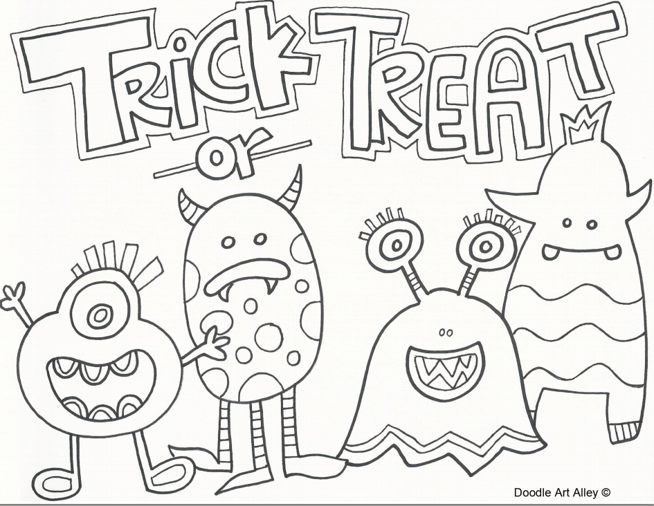 This free Halloween printable is fun for kids to color.