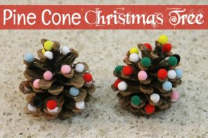 Pine cone christmas tree craft grandma ideas for Holiday craft ideas with pine cones