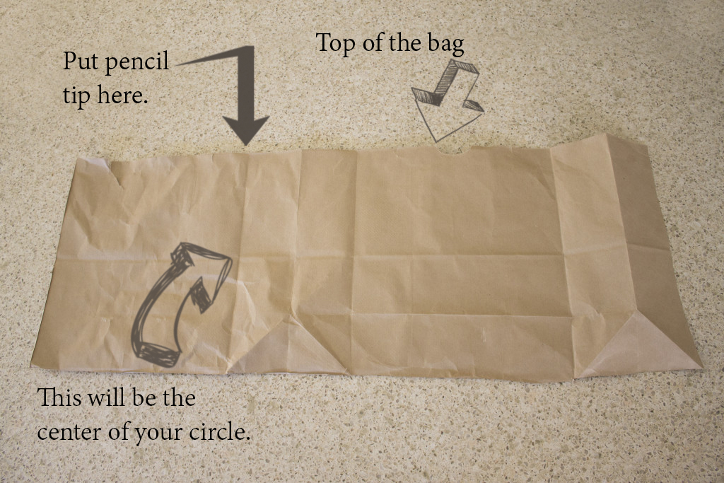 Make an Indian tepee from a brown grocery bag. It's an easy Thanksgiving craft that kids enjoy.