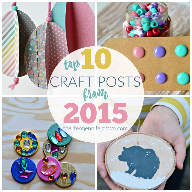 Check out this feature at the Party in My PJS link party. This shares some great crafts from 2015.