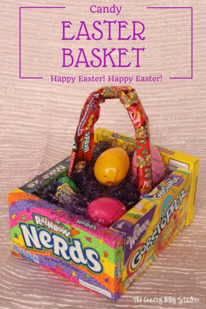 Make this awesome and clever Easter basket out of candy. Kids will love making it and then love eating it.