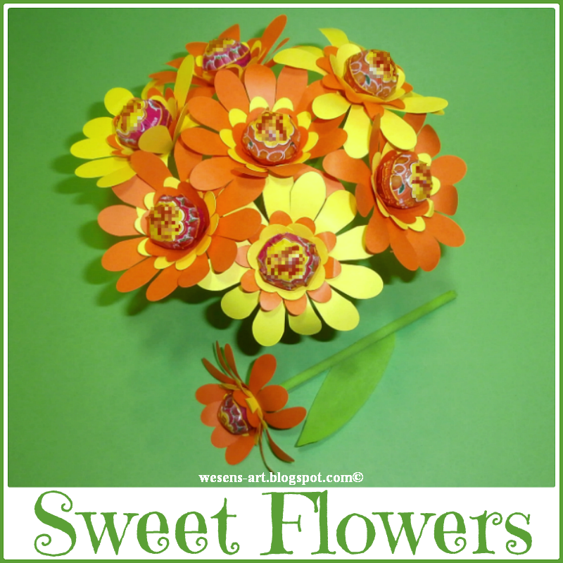 These sweet flowers were featured at the Party in Your PJs link party.