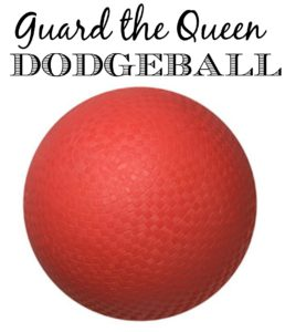 Guard the Queen is a fun variation of dodgeball that the family will enjoy playing!