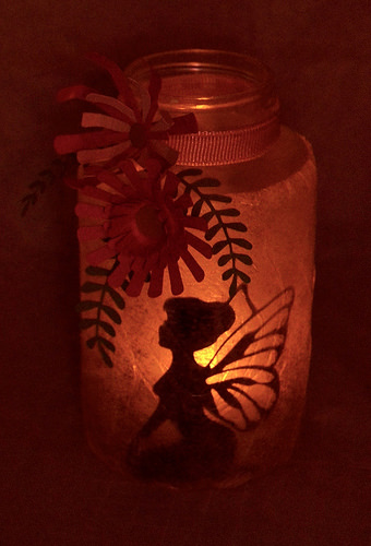 This fairy lantern is super easy to make!
