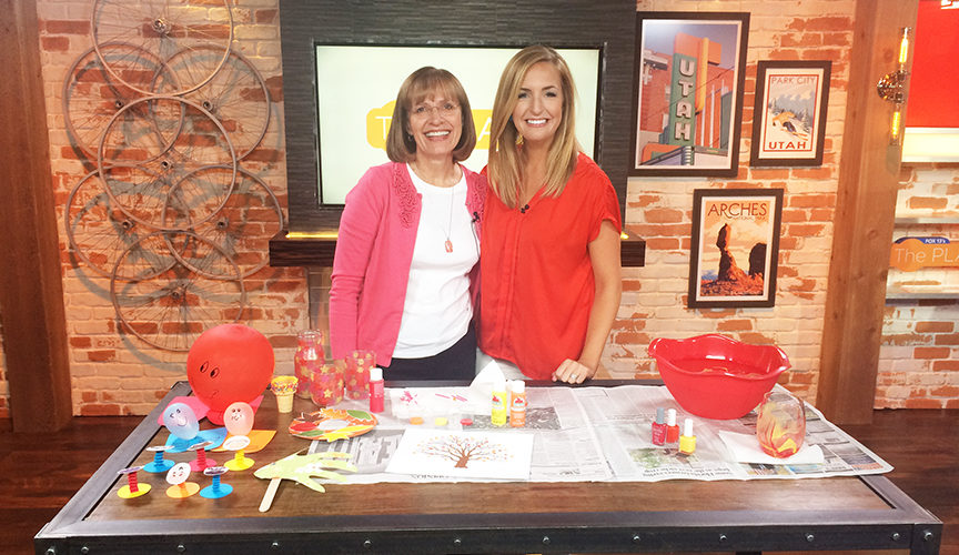 Nina Lewis was on The Place show on Fox13 television. Check out the cool ideas she shared!