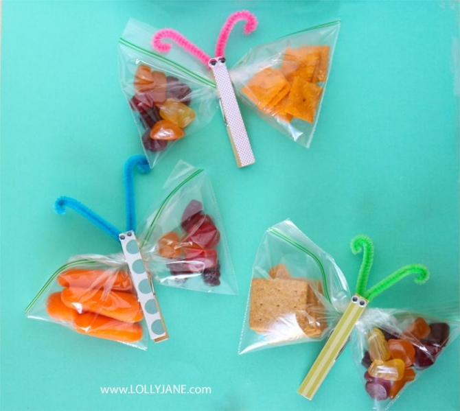 These snack butterflies were featured at Party in Your PJs link party.