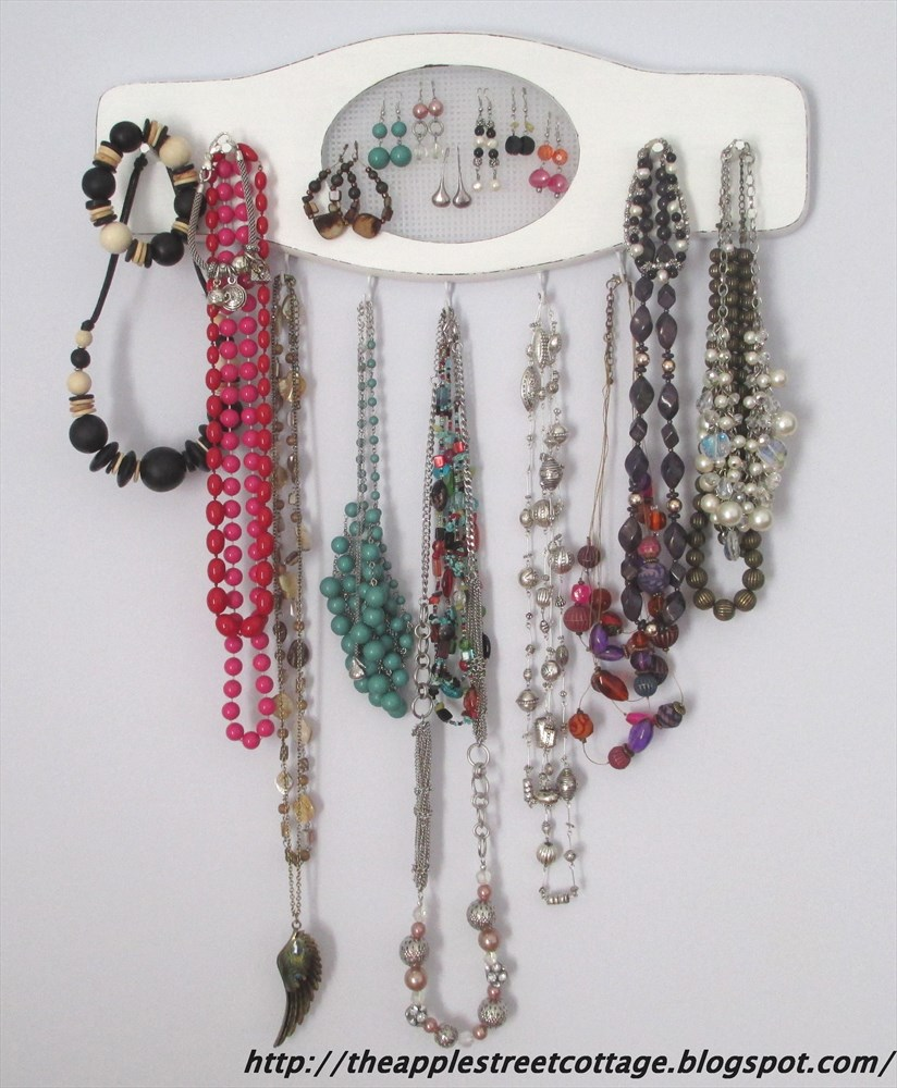 This jewelry organizer was featured at Party in Your PJs link party.