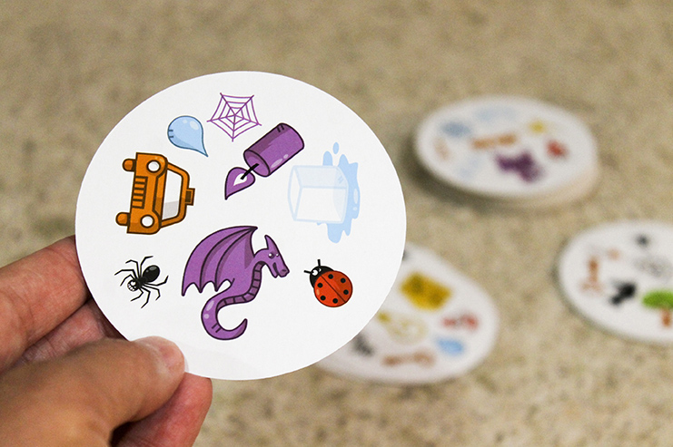 Spot It is a fast-paced card game for ages 7+ that kids love to play! It's easy to learn and comes with several variations.