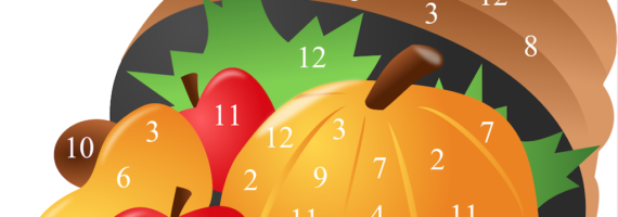 Free printable for these Thanksgiving dice games.