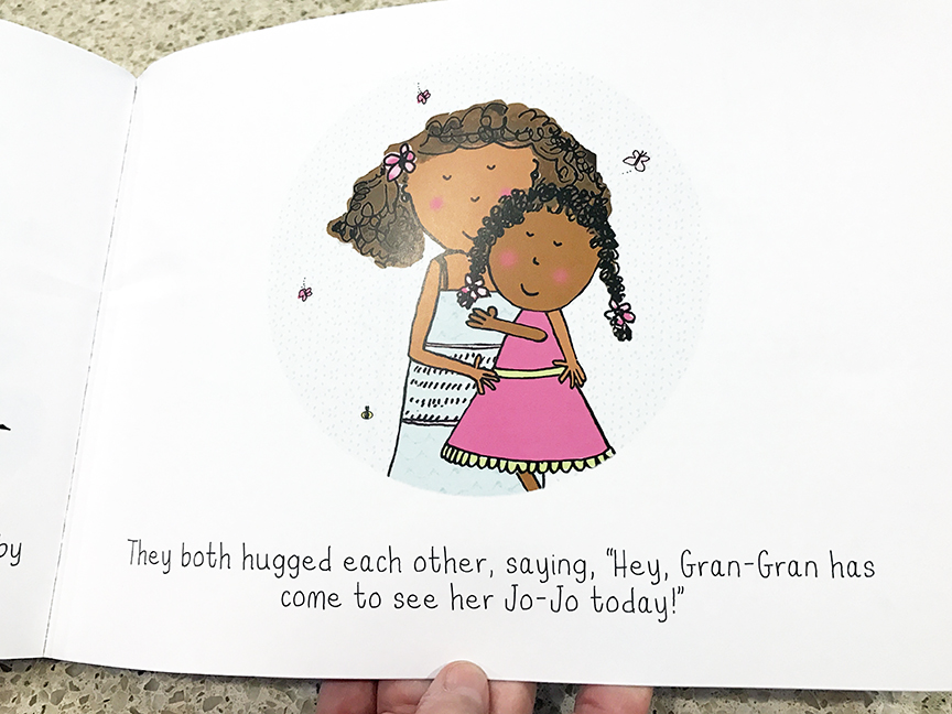 Jo-Jo and Gran-Gran All in A Week is a great children's picture book about the love between a grandmother and granddaughter.