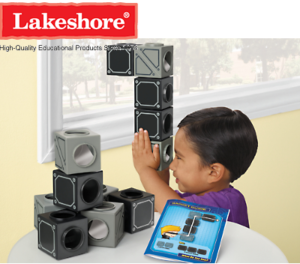 Top Secret Mirror Cubes from Lakeshore Learning Material provides kids with hours of fun!