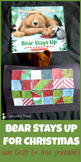This book and craft was featured at Party in Your PJs link party.
