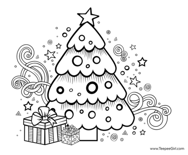 7 Free Christmas Coloring Pages Grandma Ideas