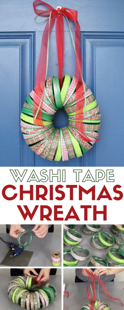 This wreath craft was shared at the Party in Your PJs link party.