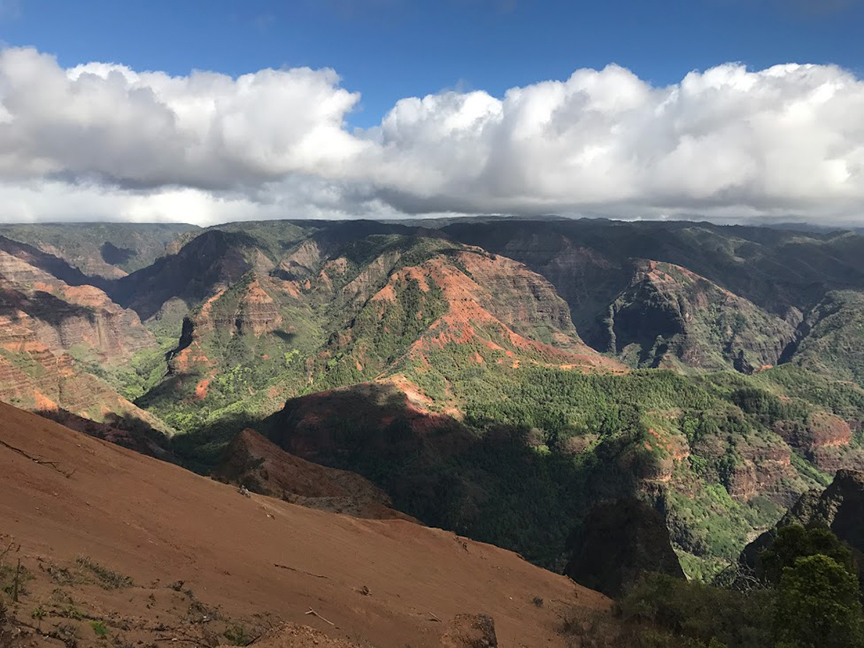 The Grand Canyon on Kauai.