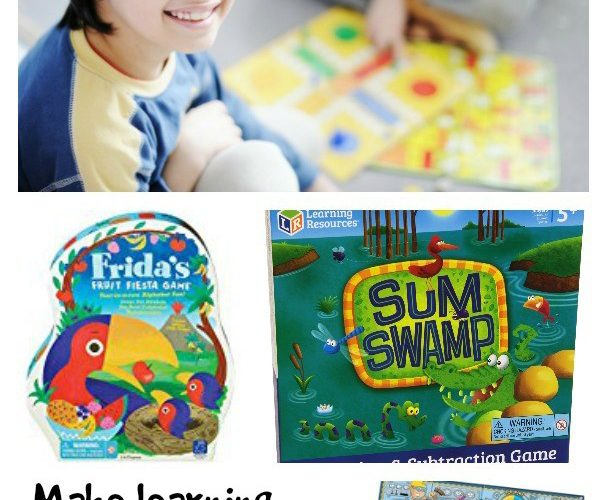 These educational games were featured at Party in Your PJs link party.