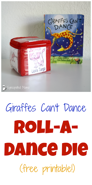 This roll-a-dice game was featured at the link party Party in Your PJs.