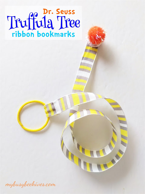 This bookmark craft was featured at the Party in Your PJs link party.