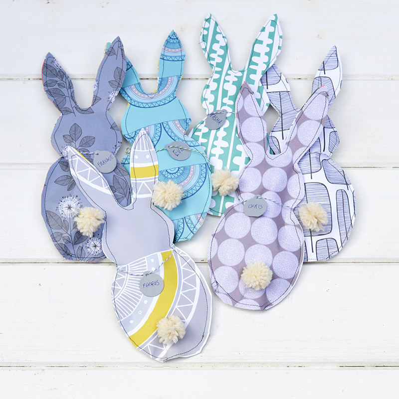 These Easter treat bags were featured at the Party in Your PJs link party.