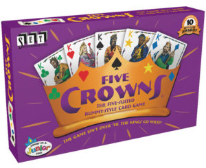 Five Crowns is a great family game -- especially for tweens and teens!