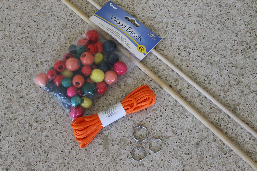 Make gigantic bubbles with this easy-to-make bubble wand!