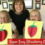 Easiest Ever Strawberry Craft