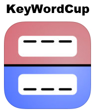 KeyWordCup is an iPad game of hangman for tweens, teens, and adults.