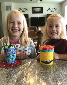 These Halloween monsters are fun for kids to make.