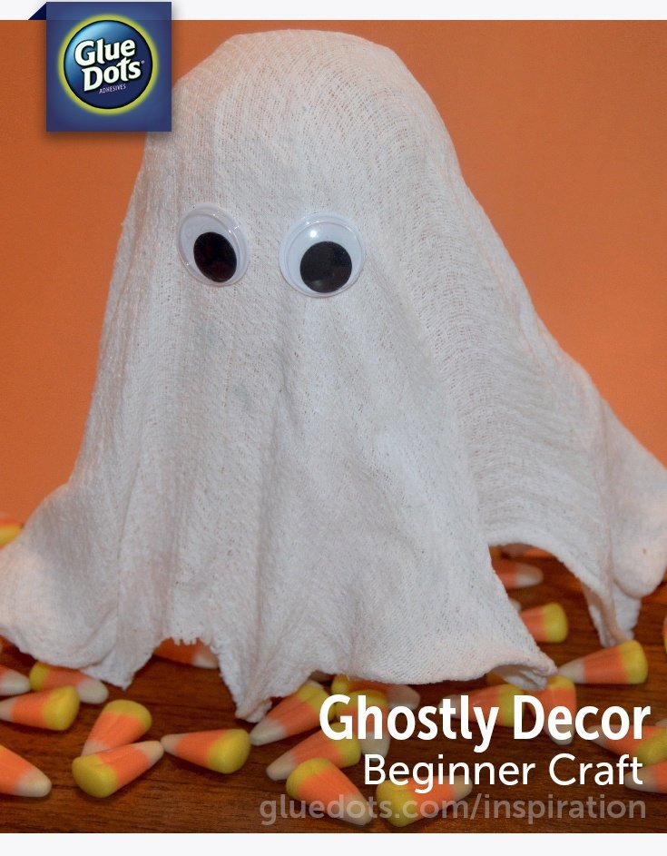 This ghost decoration was featured at Party in Your PJs.