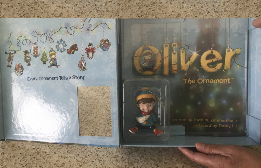 Oliver the Ornament is a sweet story about one family's cherished Christmas ornament.