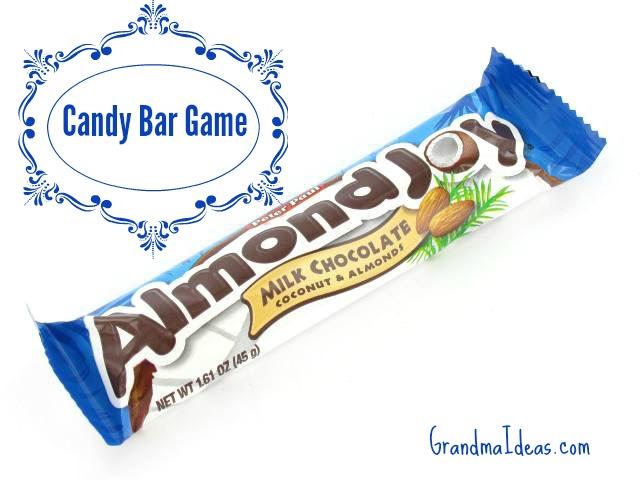 The Candy Bar Game Grandma Ideas