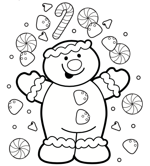 7 Free Christmas Coloring Pages - Grandma Ideas