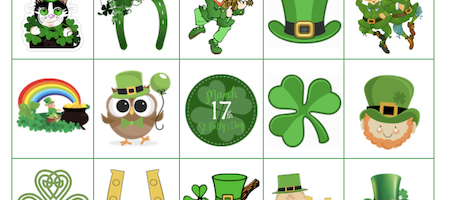 picture relating to St Patrick's Day Bingo Printable named St. Patricks Working day Archives - Grandma Designs